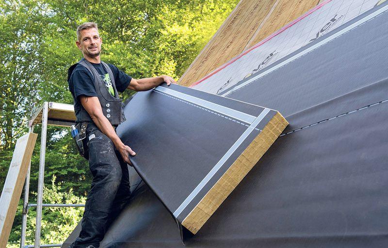 Eine gute Dachdämmung spart Energie