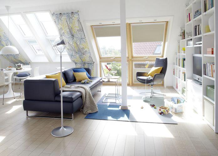 wohnideen fürs dachgeschoss - dachausbau, Hause deko