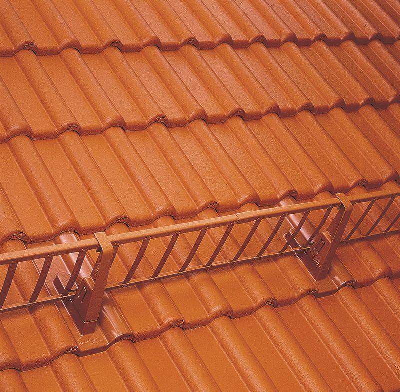 Schneestopper fürs Dach