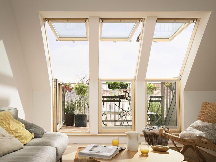 Schnelle Wege Zum Eigenen Balkon Im Dachgeschoss