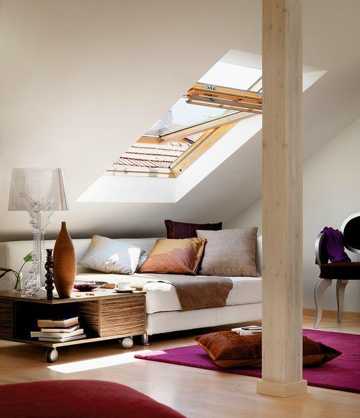 Wohnzimmer unterm Dach: Top-Tipps für mehr Raumvergnügen