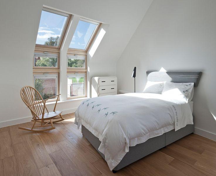 Traumhaft romantisch: Schlafzimmer unterm Dach