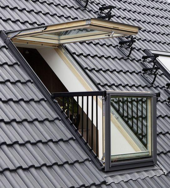 Bekannt Der Mini-Balkon zum Ausklappen SJ43