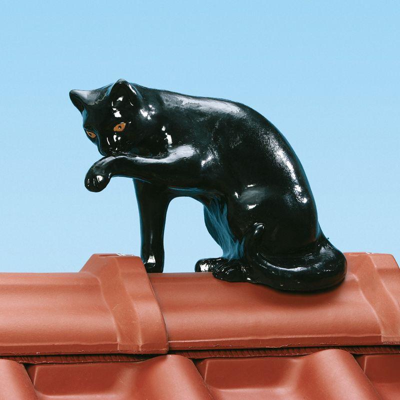 Dachschmuck von Braas: Sitzende Katze