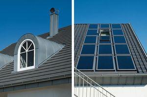 Schleppgaube und Dachfenster