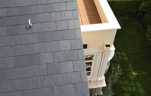 Dachkonstruktion Villa