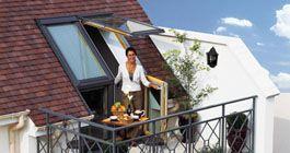Dachbalkone - wo die Sonne zuhause ist