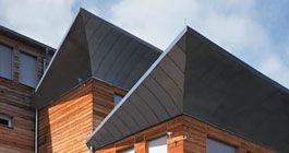 Schöne Dächer aus Metall