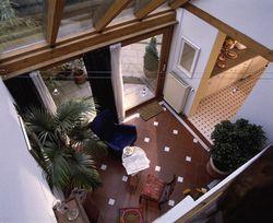 Eingang Scheune oben