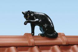 Dachfigur Katze