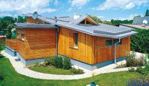 Dach aus Titanzink