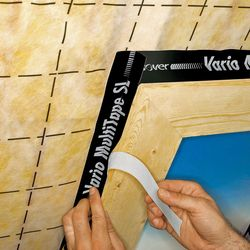 Anbringen von Isover Vario MultiTape SL