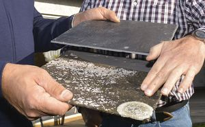 Schiefer ersetzt asbesthaltige Faserzementplatten