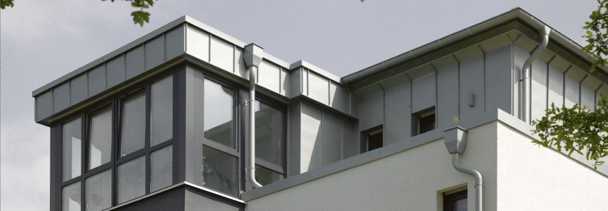 Durchdachte Dachentwässerung