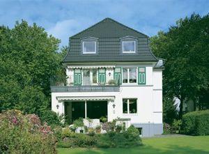 Farbiges Dach