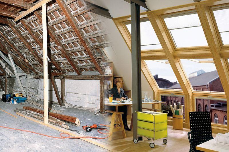 ein dachausbau schafft neuen wohnraum