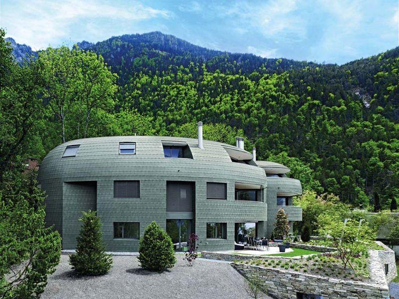 Allgemeines alles ber das moderne dach for Modernes haus mit rotem dach