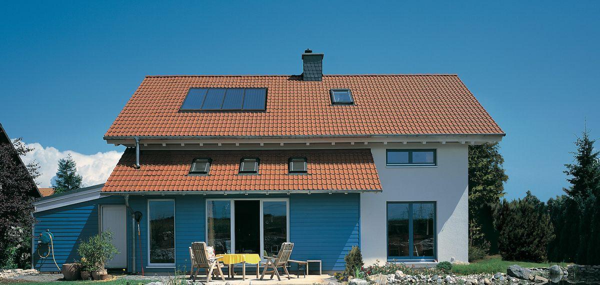 Solar-Dach der Zukunft