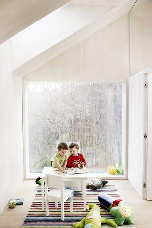 Kinder im Velux Sunlighthouse