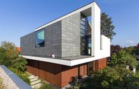 Neue Architektur-Idee: Farbiger Schiefer