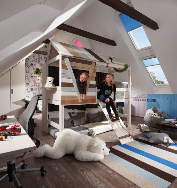 Die 6 Besten Tipps Fur Ein Kinderzimmer Im Dachgeschoss