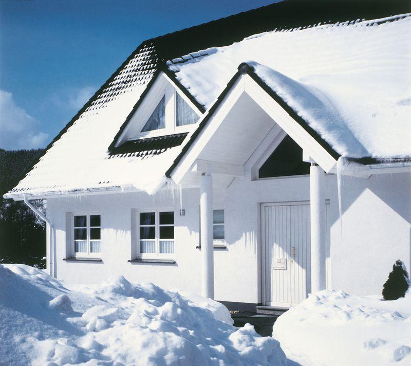 Der Schnee-Schnellcheck: Ist das Dach dicht gedämmt?