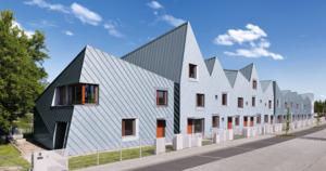 Titanzink von Rheinzink als Dacheindeckung und Fassadenverkleidung
