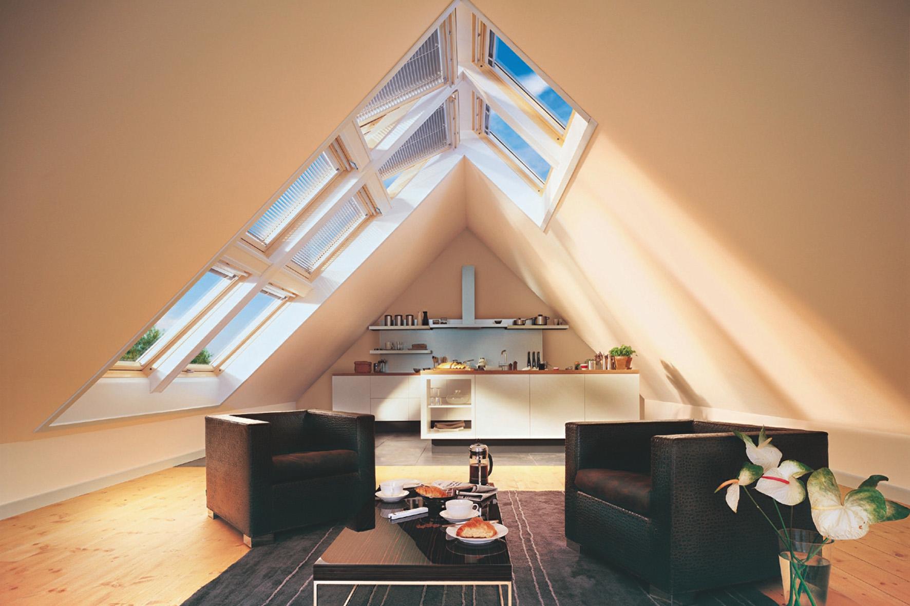 мирового лидера на рынке мансардных окон, световые проемы в крыше пропускают в среднем на 40% больше света, чем...