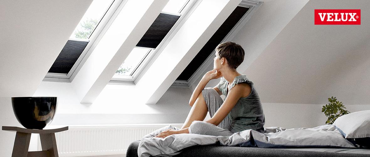 Jalousie für Dachfenster