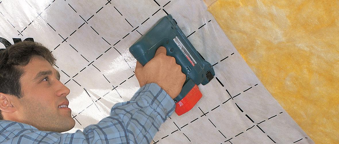 Handwerker Dachdämmung