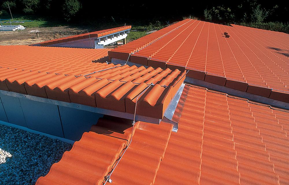 alternative zum flachdach das flach geneigte dach. Black Bedroom Furniture Sets. Home Design Ideas