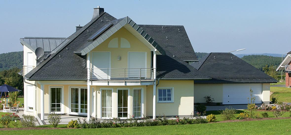 Vorkehrungen zum Schutz vor Feuchtigkeit - Dachkonstruktion