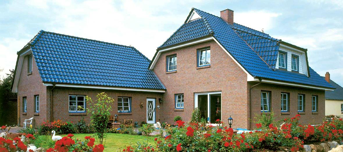 Farbige Dächer - mit Dachziegeln und dachsteinen von Braas