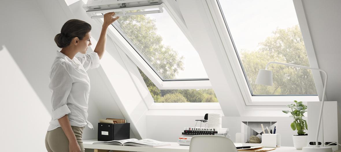 Für Gesundheit, gegen Schimmel – das Dachgeschoss richtig lüften