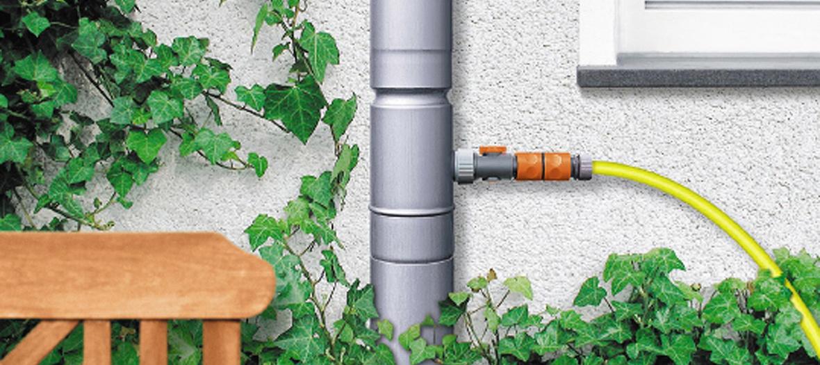Kostenloses Wasser für Haushalt und Garten
