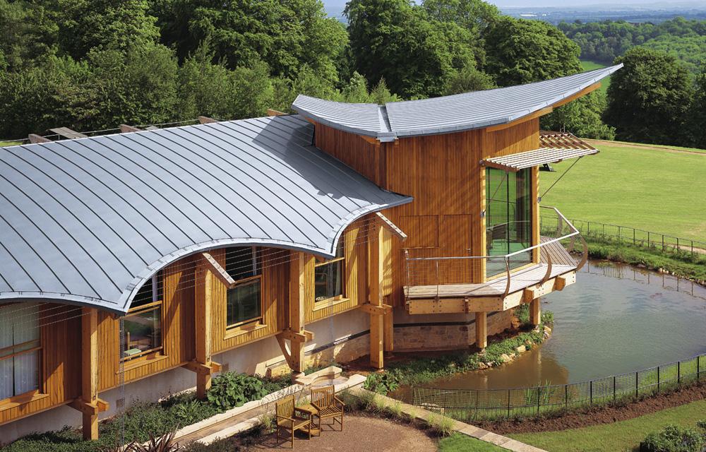 Dachüberstand - ein interessantes Gestaltungselement