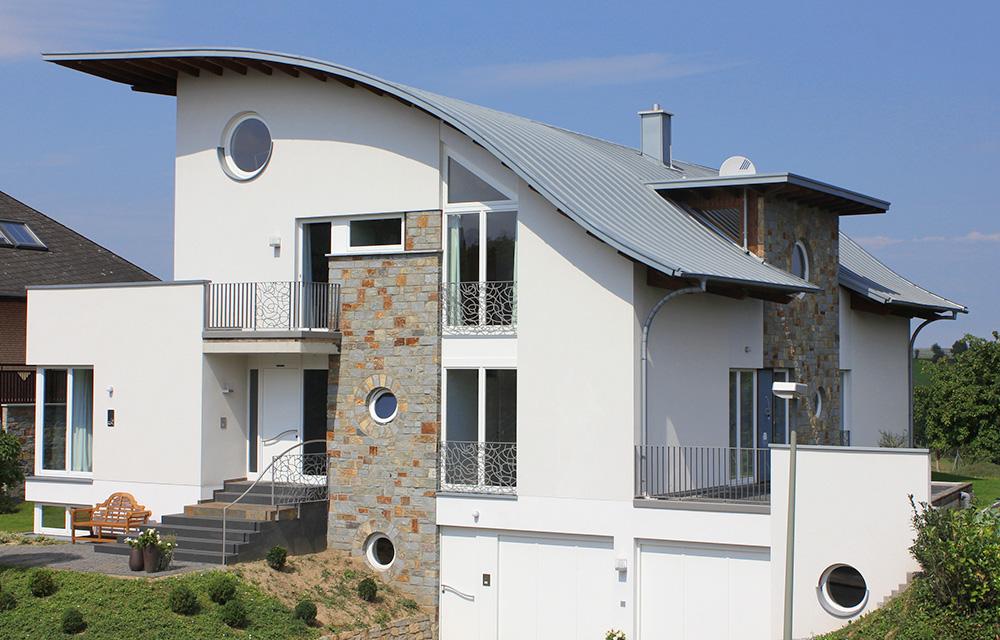 Architektonischer Hingucker: Dachüberstand