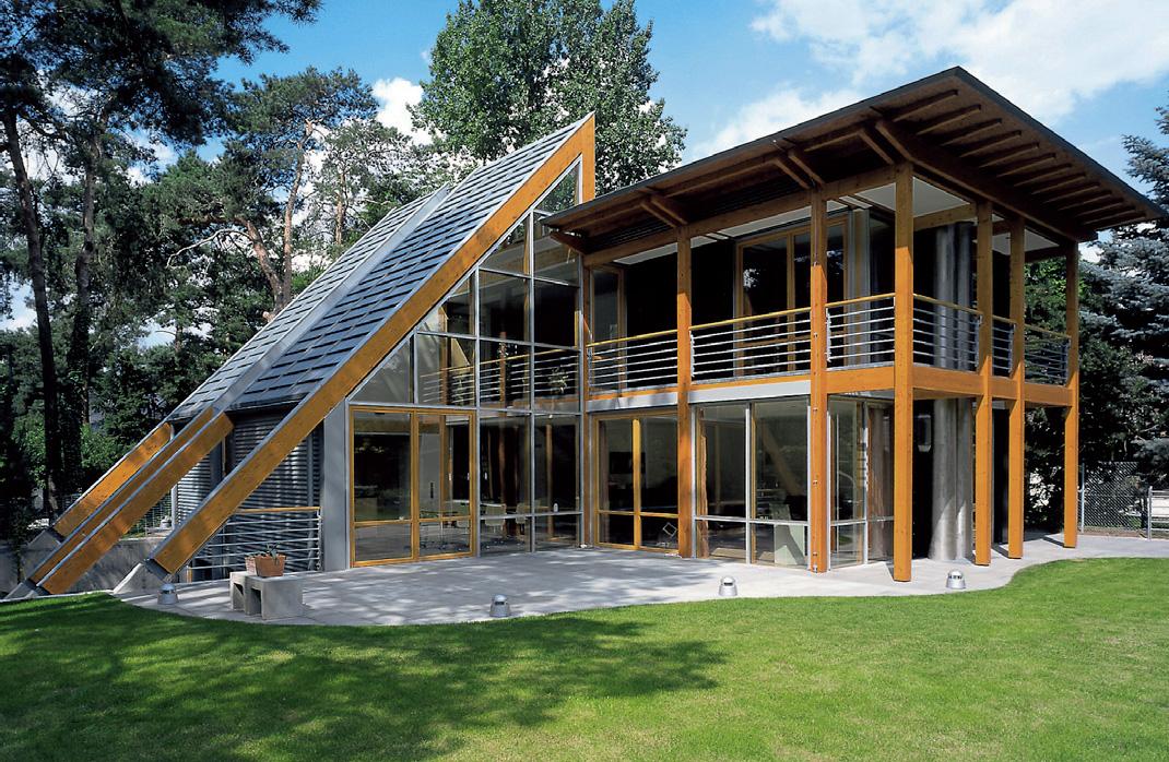 Schmückt das Eigenheim – ein Dachüberstand