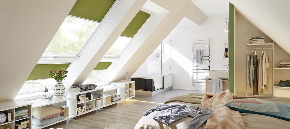Wohnideen: Raumaufteilung im Dachgeschoss