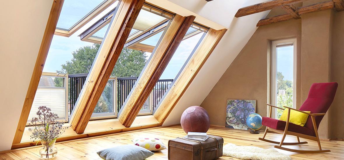 Dämmung sorgt für Hitzeschutz in Dachwohnungen