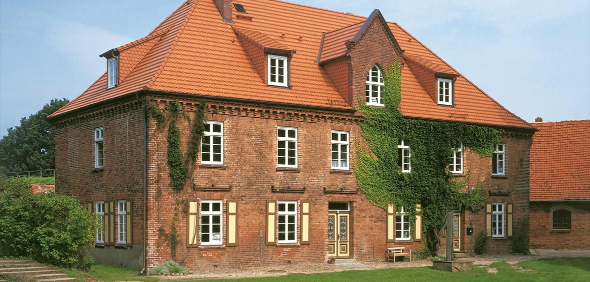 Dachziegel für denkmalgeschütztes Haus