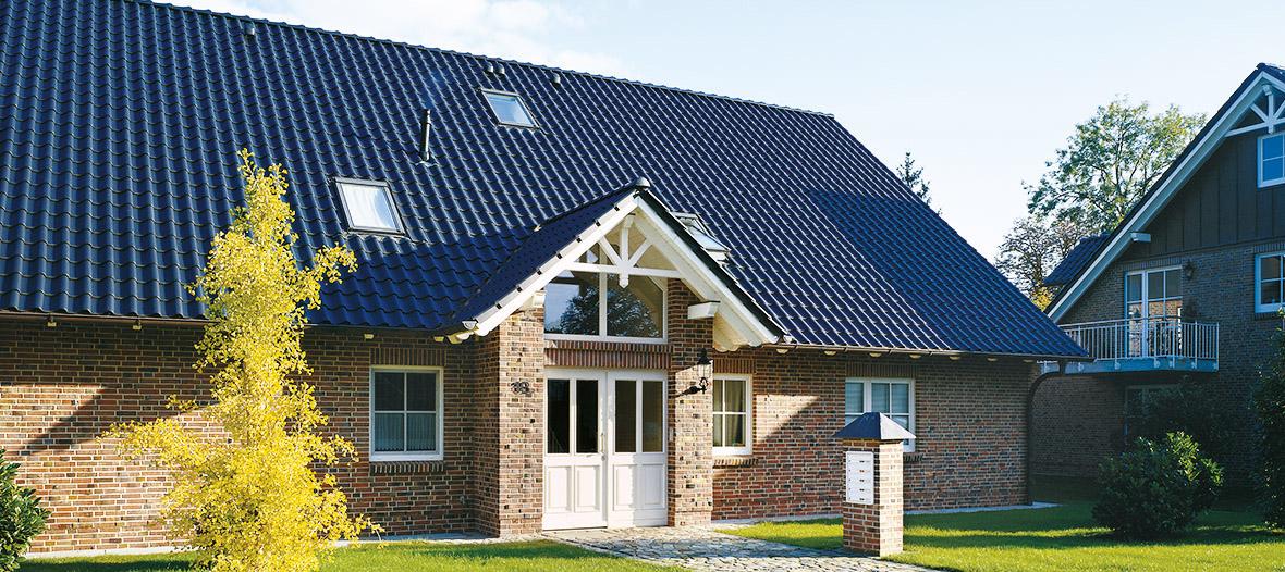 Innovative Fotomontage Zeigt Ob Das Neue Dach Zum Haus