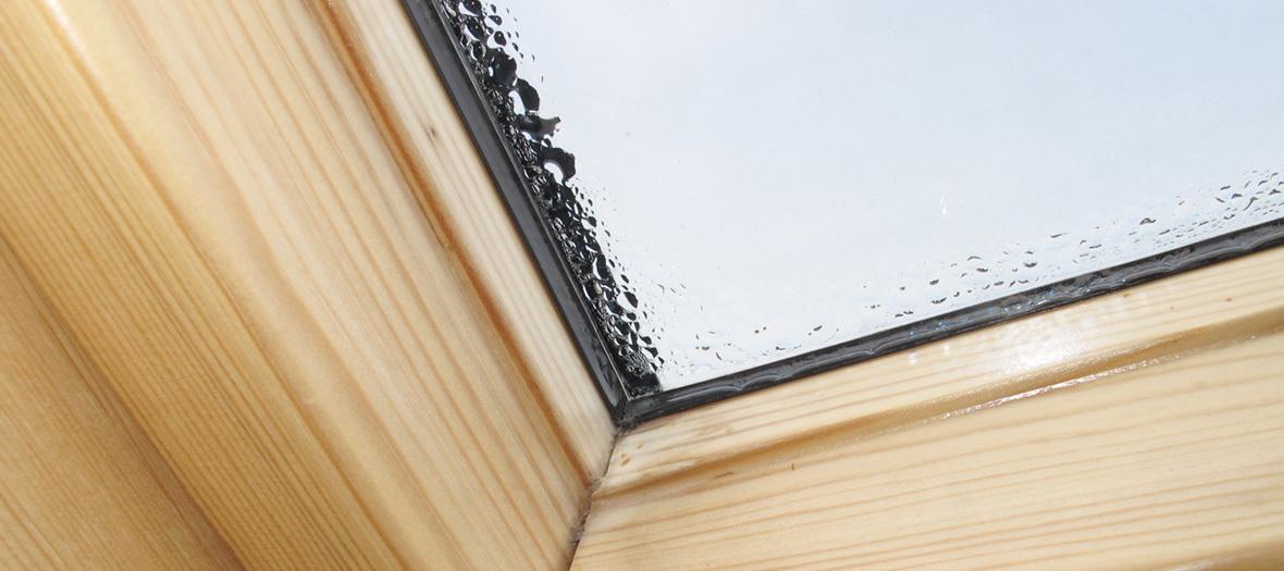 Bevorzugt Kondenswasser am Dachfenster – Ursachen und Maßnahmen KV58