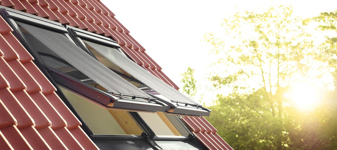 Dachwohnung: Hitzeschutz im Sommer