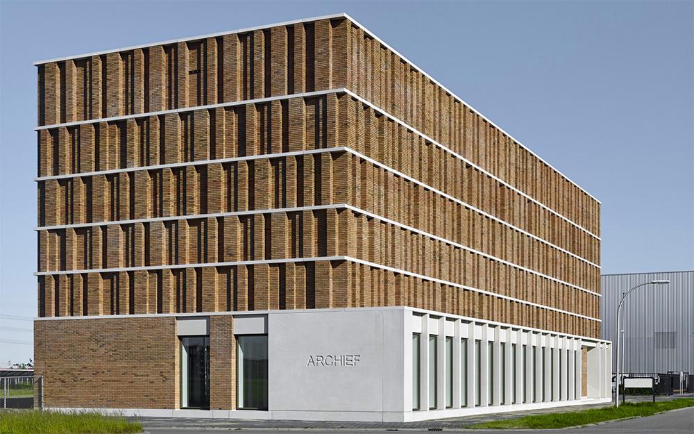 Stadtarchiv von Office Winhow und Gottlieb Paludan Architects, Niederlande (Bildquelle: Stefan Müller / Wienerberger)