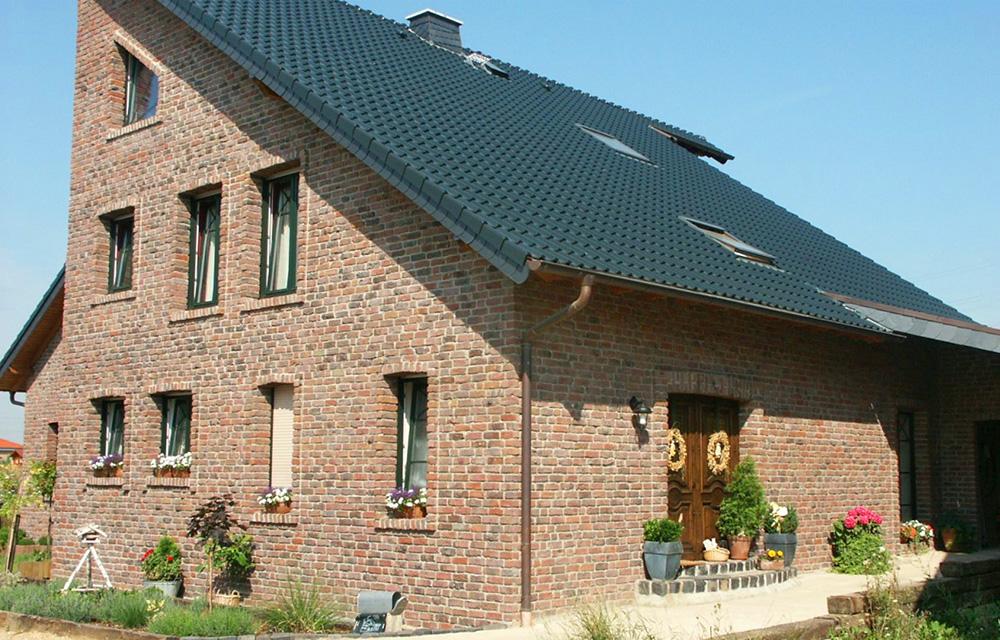 Moderne Variante unter den Dachformen: Pultdach