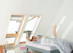 Tageslicht durch Dachwohnfenster