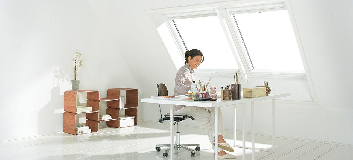 Top Für Den Job: Das Arbeitszimmer Unterm Dach