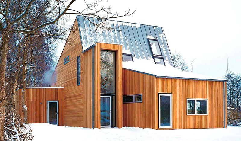 Steildächer schützen optimal gegen Witterungseinflüsse