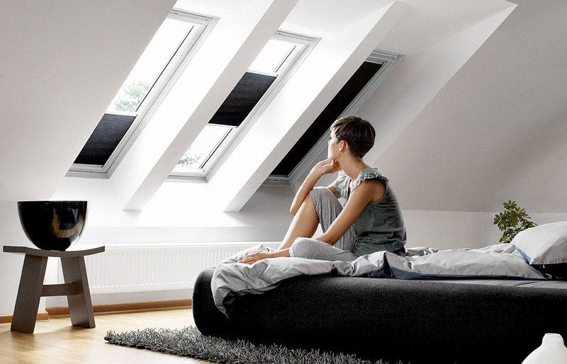 Sonnenschutz fürs Dachgeschoss
